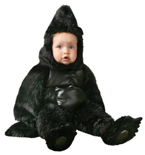 Deluxe Gorilla Kostüm Kinder - Zeit AD Inc. 185633 Gorilla Deluxe Kleinkind Kost-m - Schwarz - Gr--e 2-4T