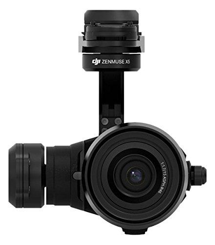 DJI Zenmuse X5 - Cámara para dron Inspire 1 de 16 MP (4 K Ultra HD, sensor 4/3 MFT) color negro