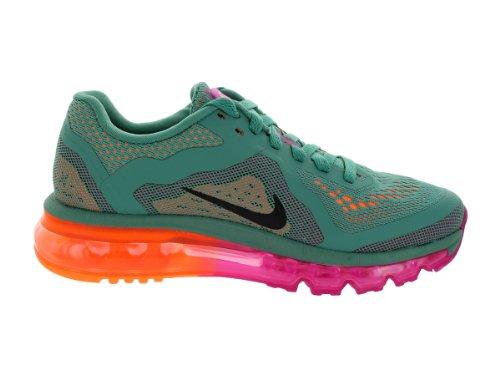 Nike  Air Max 2014, Chaussures de course femme - JD GLZ/BLK-BRGHT MGNT-ATMC ORN