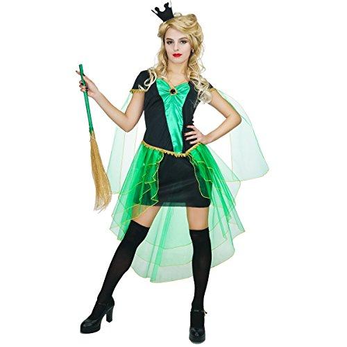 ch erwachsenes Halloween Damen Kostüm (Goth Mädchen Hexe Kostüme)