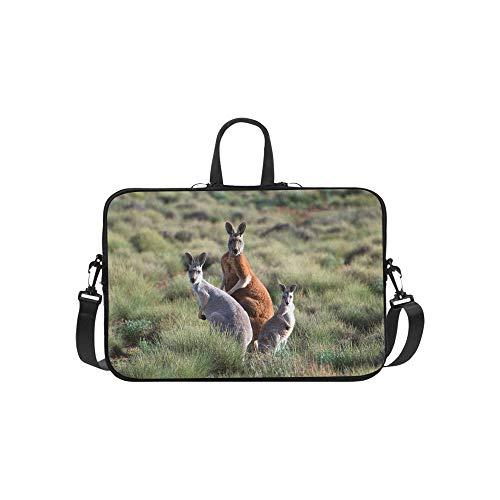 Outback Cross Body (Viele Känguru-Nahaufnahme mit Hügel-Muster-Aktenkoffer-Laptoptasche-Kurier-Schulter-Arbeitstasche Crossbody-Handtasche für das Geschäftsreisen)