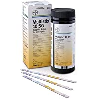 Bayer Multistix 10SG Urine Reagent Test Strips - 100/BOX, [Importado de UK