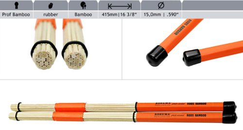 Rohema Rods Professional, Bambus