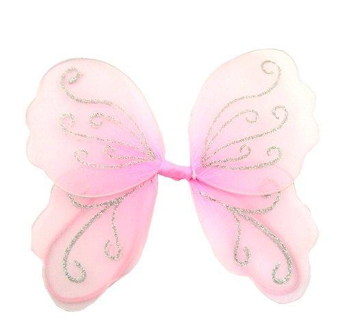 Kinder, die kleine rosa Fee Flügel für Spielen und Verkleidungen