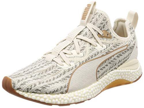 Puma Herren HYBRID Runner Desert Laufschuhe, Weiß (Whisper White-Metallic Bronze 01), 45 EU