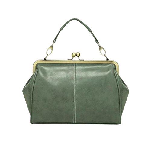 Perlen Hobo Bag (Manadlian Elegant Retro Perlen Damen & Ladies Clutch Bag, Mode Frauen Retro Handtasche Prinzessin Umhängetasche Umhängetasche Messenger Bag Totes (Grün))