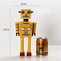 Retro Robot Model Resin Decorative Ornaments Jewelry Home Furnishings Children