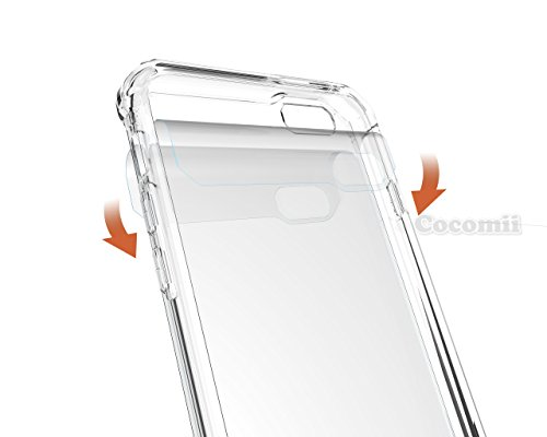 iPhone 6S Plus / 6 Plus Hülle, Cocomii Modern Armor NEW [Crystal Clarity] Premium HD Clear Anti-Scratch Shockproof Hard Bumper Shell [Slim Fit] Full Body Ultra Thin Lightweight Transparent Cover Case  Crystal Clear
