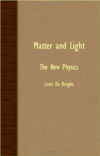 Matter and Light - The New Physics