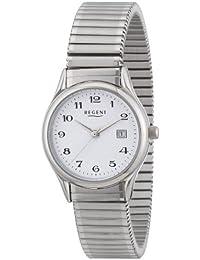 Regent Damen-Armbanduhr XS Analog Edelstahl 12310137