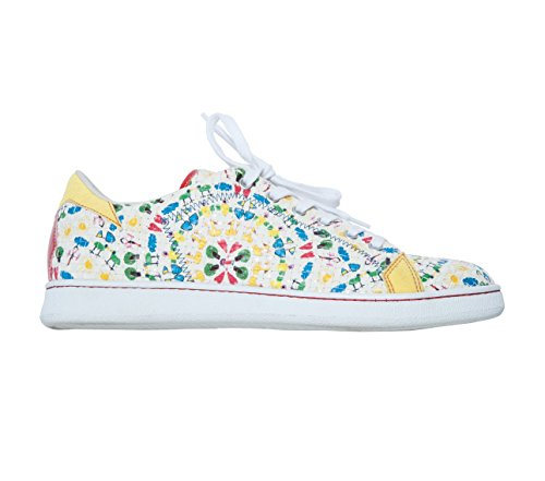 Scarpe Sneakers L4K3 LAKE Unisex STAN Limited Intreccio Bottega Veneta STAMPA BIMBI (39 EU)