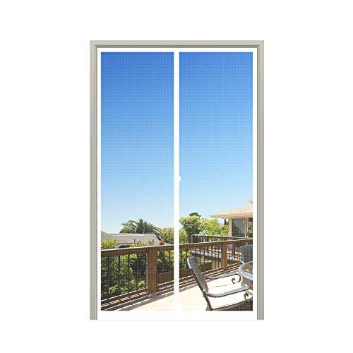 Weiß Schwarz Tür Bildschirm 36x96 Inch weiß