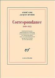 Correspondance: (1909-1925)