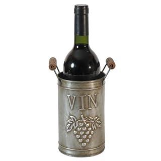 Französischer Vintage Weinflaschenständer