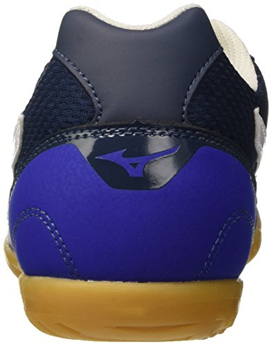 Mizuno Herren Sala Club in Fußballschuhe Blu (Surf The Web/White/Dress Blues)