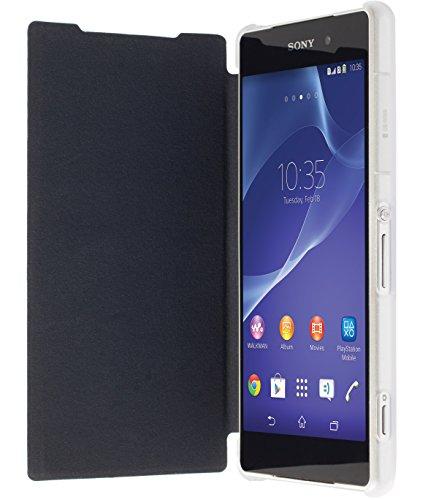 Krusell Kalmar Flip Tasche mit Kreditkartenfach für Apple iPhone 6 und 6s plus in braun Schwarz