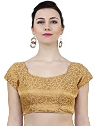 b754018b3dbd8 Amazon.in  Golds - Blouses   Ethnic Wear  Clothing   Accessories