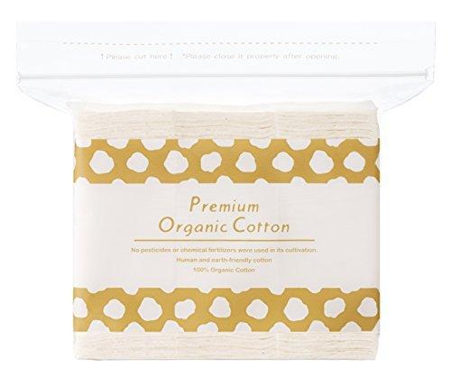 Premium Coton Bio Puff (fabriqué au Japon) – 120pièce