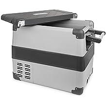 Klarstein Survivor 50 Nevera Congelador portátil • 50 litros capacidad • Temperatura interior regulable -22 hasta 10 °C • 2 compartimientos • Puerto USB • Nevera-congelador • Red eléctrica o toma de mechero de coche • Movilidad y libertad