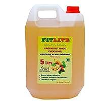FITLITE Nature Groundnut Chekku Oil 5 LTR