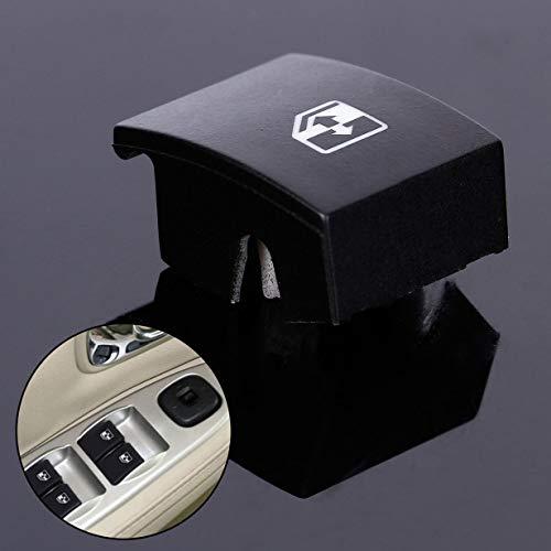 camellia Für Opel Astra Mk5 Zafira Tigra B Fensterheber-Schalter Taste Abdeckung (schwarz)