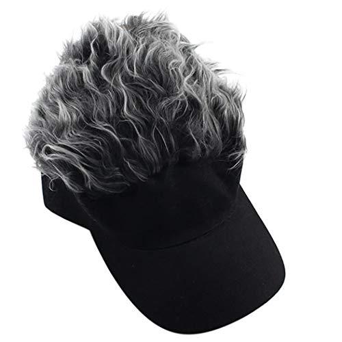 Zoylink Neuheit Baseballmütze Mode Haar Visier Schirmmütze für Frauen Männer