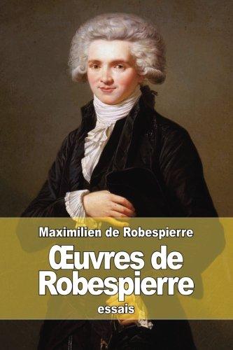uvres de Robespierre