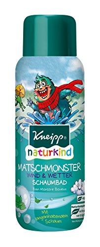 Kneipp Naturkind Schaumbad Matschmonster, 3er Pack(3 x 400 ml) - Thymian Dusche