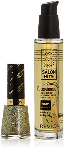 Salon Hits Oro Líquido Set di Fluido Sublime e Smalto per Unghie - 64 ml