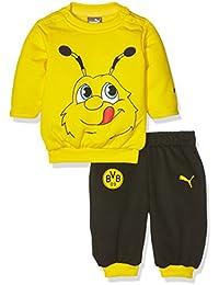 Puma Baby BVB Minicats Jogger - Conjunto deportivo de jogging para niño, diseño del equipo Borussia Dortmund