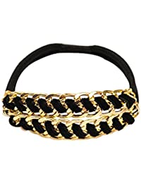 Young & Forever friendship day gifts for best friend raksha bandhan gifts for sister & brother Black Diva Ponytail Holder For Women By CrazeeMania