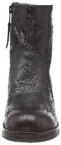Mjus - 560218-0401-6002, Stivaletti Donna Nero (Nero (Nero))