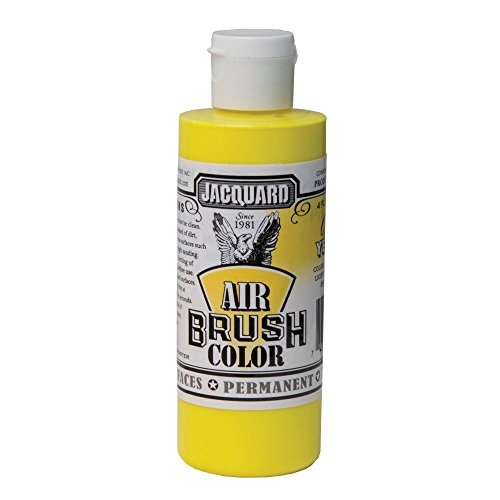 Jacquard Airbrush Color 4Oz Fluor Yellow by Jacquard