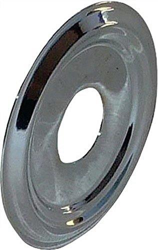 Abdeckrosette zu Türspion Messing verchromt Bohrung D.14mm Außendurchmesser 46mm