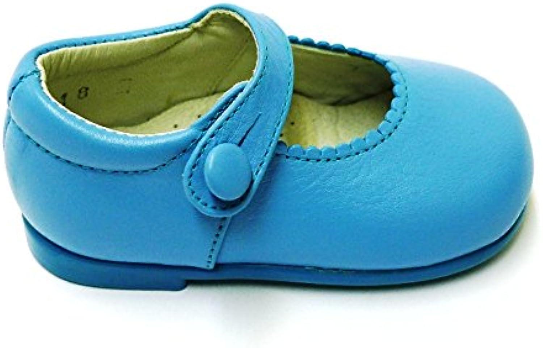 Zapatos Primeros Pasos Merceditas Bailarinas 10328 Turquesa
