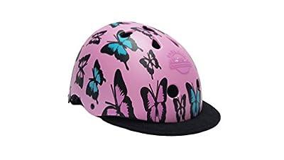 Park City Girl Butterfly Multi Sport Bike Roller Skate Helmet, Purple, 54-56 cm from Park City