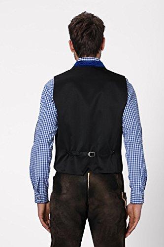 Stockerpoint - Herren Trachten Weste in verschiedenen Farbtönen, Calzado, Größe:64, Farbe:Royale - 4