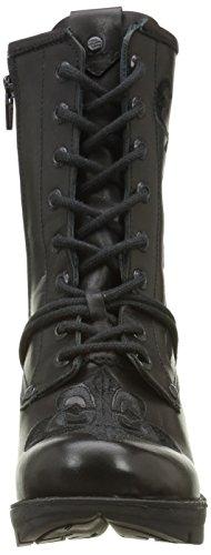 Nuova Boots Tr052 Nero Donna nero S1 Roccia Biker qrXqSx