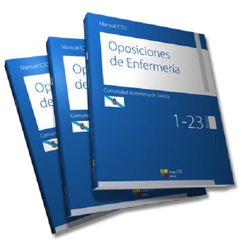 Descargar Libro Manual CTO Oposiciones de Enfermería Comunidad Autónoma de Galicia: 1,2,3 de CTO Editorial