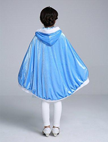 Imagen de labellevie capa disfraces de princesa costume para niñas disfraces para halloween alternativa