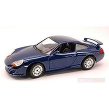 BURAGO BU22084BL PORSCHE 911 GT 3 2004 BLUE 1:24 MODELLINO DIE CAST MODEL