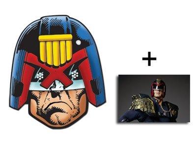 Judge Dredd Karte Partei Gesichtsmasken (Maske) - Enthält 6X4 (15X10Cm) starfoto