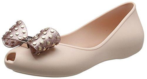 Flache Ballett Glitter Kind Schuhe - Zaxy Mädchen Kids Confetti Ballerinas, Pink