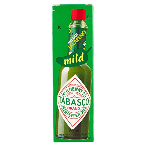 Tabasco Verde Jalapenos - 60 ml