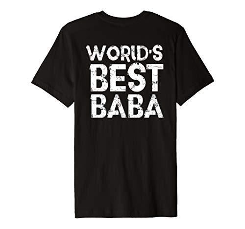 Muslim Dad Shirt Worlds Best Baba Väter Tag Geschenk Islam