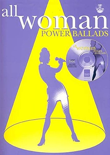 Womens Dart (Power Ballads: (Piano, Vocal, Guitar) (All Woman))