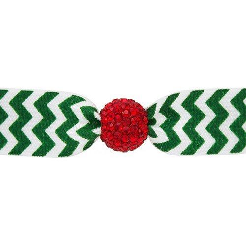 emi-jay-fermacoda-con-perline-in-cristallo-colore-bianco-e-verde-con-perlina-rossa-motivo-chevron