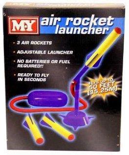 My Foot Pump Air Rocket
