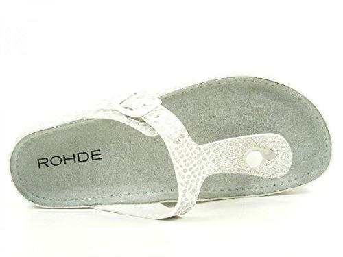 Rohde Riesa 5803 Tongs femme Silber