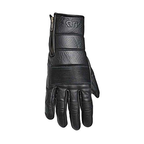 Handschuhe Guns Power Leder black Zulassung CE - Handschuhe Motorrad Indian